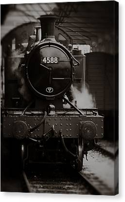 Steam Locomotive Canvas Print by Graham Moore