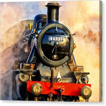 Steam Power Canvas Print by Michael Pickett