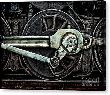 Steam Power Canvas Print by Olivier Le Queinec