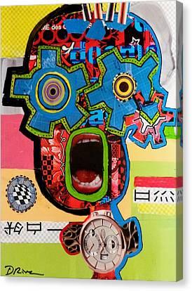 Steam Punk Canvas Print by Charlotte Driver