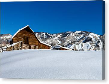 Steamboat Springs Barn Canvas Print