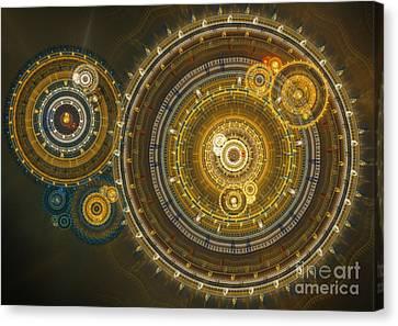 Steampunk Dream Canvas Print by Martin Capek