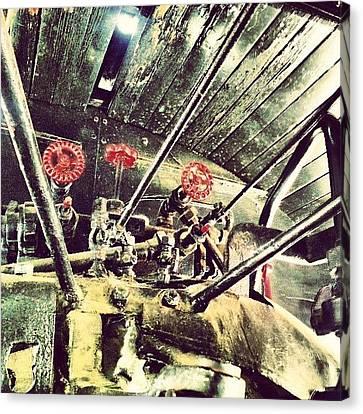 Steampunk Canvas Print - #steampunk Indeed #traveltown by Daron Anderson
