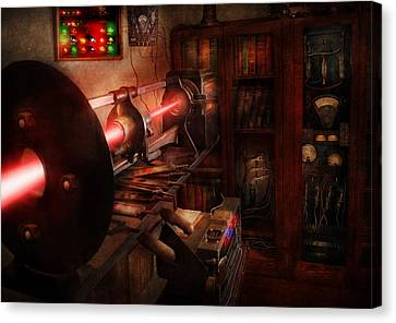 Steampunk - Photonic Experimentation Canvas Print by Mike Savad