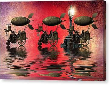 Steampunk Canvas Print by Sharon Lisa Clarke