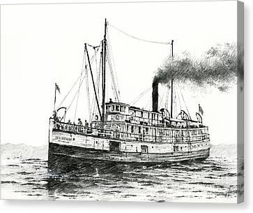Steamship Bellingham Canvas Print