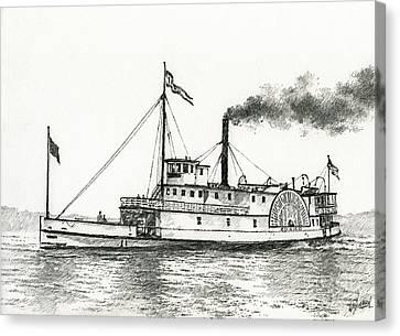 Steamboat Idaho Canvas Print