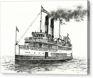 Steamship Tacoma Canvas Print