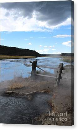 Steamy Waters Canvas Print