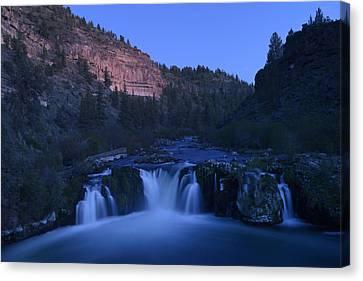 Steehead Falls Canvas Print by Christian Heeb