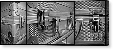 Steel Box - Triptych Canvas Print by James Aiken