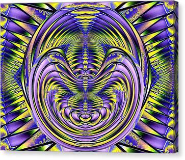 Steel Cheshire Canvas Print by Tim Allen