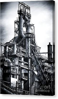Steel Giant Canvas Print by John Rizzuto