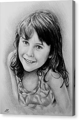 Stefanie Canvas Print by Andrew Read