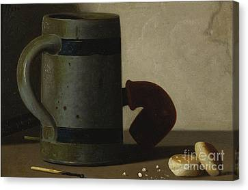 Stein And Biscuits Canvas Print