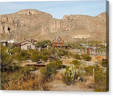 Steins Ghost Town Canvas Print by Gordon Beck