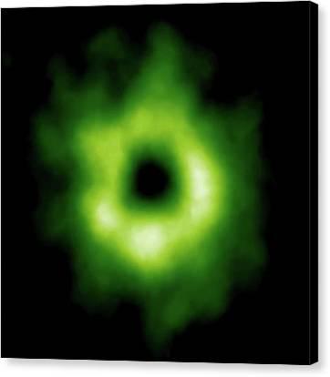 Stellar Carbon Monoxide Canvas Print by Alma (eso/naoj/nrao)