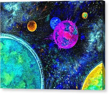 Stellar Flares Canvas Print by Bill Holkham