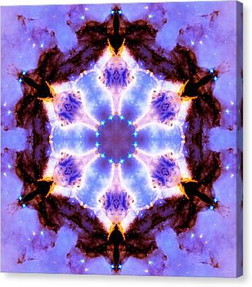 Stellar Spiral Eagle Nebula IIi Canvas Print by Derek Gedney