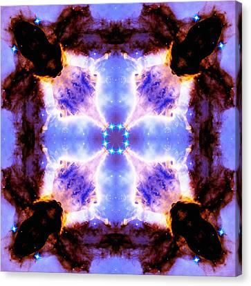 Stellar Spiral Eagle Nebula V Canvas Print by Derek Gedney