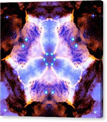 Stellar Spiral Eagle Nebula Vi Canvas Print by Derek Gedney
