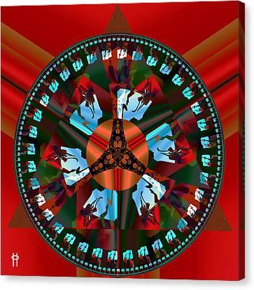 Stem Wowle Canvas Print by Jim Pavelle