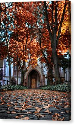 Autumn In Basel Canvas Print