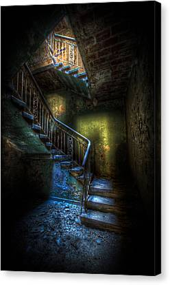Step Into The Light Canvas Print by Nathan Wright