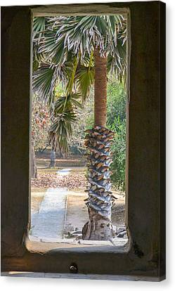 Step Through Canvas Print by Bill Mock