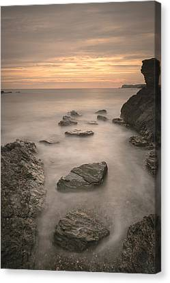 Stepping Stones To Oblivion Canvas Print by Andy Astbury