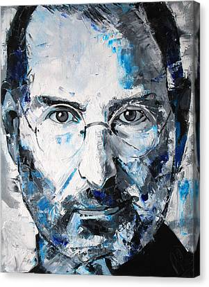Steve Jobs Canvas Print by Richard Day