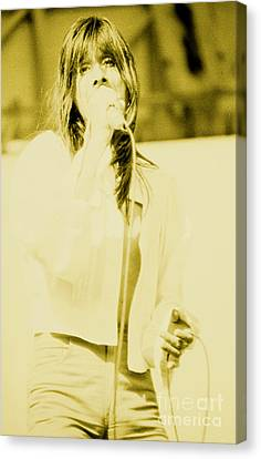 Steve Perry Of Journey At Day On The Green - July 27th 1980 Canvas Print