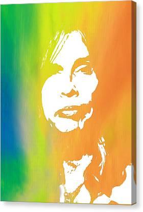 Aerosmith Canvas Print - Steven Tyler by Dan Sproul