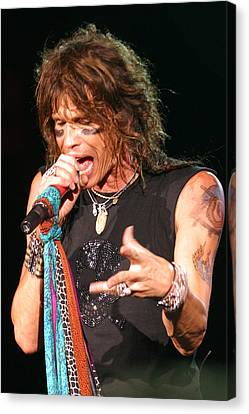 Canvas Print featuring the photograph Steven Tyler by Don Olea