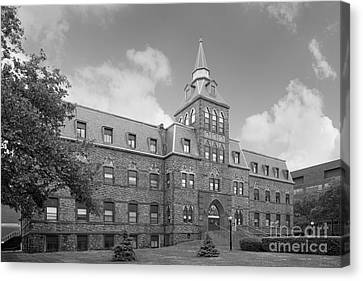 Stevens Institute Of Technology Stevens Hall Canvas Print by University Icons