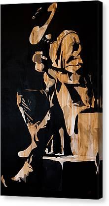 Stevie Ray Vaughan Canvas Print by Brad Jensen