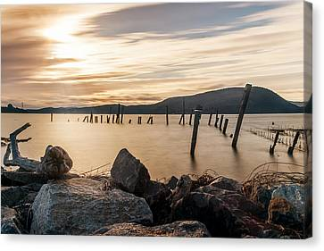 Canvas Print featuring the photograph Stick's And Stone's by Anthony Fields