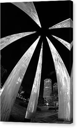 Canvas Print featuring the photograph Sticks Of Fire At University Of Tampa by Daniel Woodrum