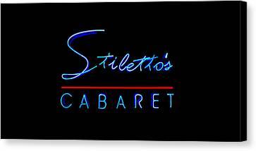 Stiletto's Cabaret Too Canvas Print