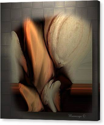 Still Abstract Canvas Print by Ines Garay-Colomba