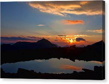Still Canvas Print by Jim Garrison