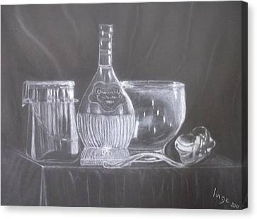 Still Life 10 Canvas Print by Inge Lewis