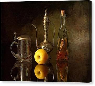 Tankard Canvas Print - Still Life 4 by Adam Orzechowski