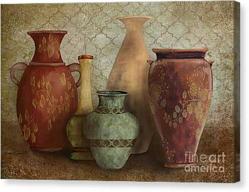 Still Life-a Canvas Print by Jean Plout