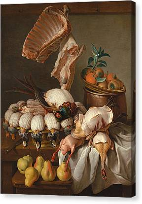 Still Life Canvas Print by Alexandre-Francois Desportes