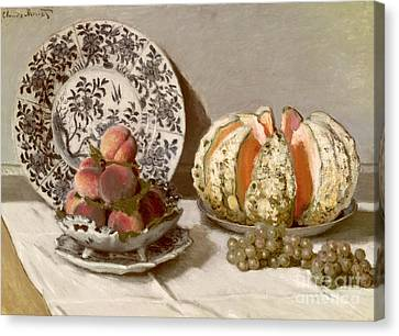 Still Life Canvas Print by Claude Monet