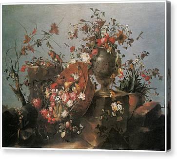 Still Life Canvas Print by Francesco Guardi