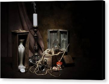 Still Life - General Vintage Items Canvas Print by Tom Mc Nemar