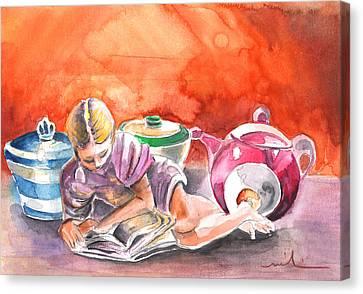 Still Life In Loket  Canvas Print by Miki De Goodaboom