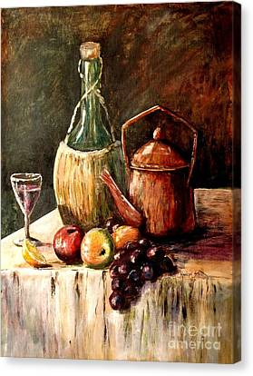 Still Life Canvas Print by Marilyn Smith